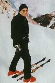 John Paul the excellent skiier